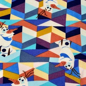 🦄 Rare Frozen Olaf LuLaRoe Leggings Size TC